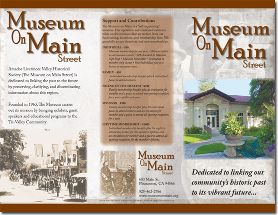 Museum On Main - General Brochure (Outside)