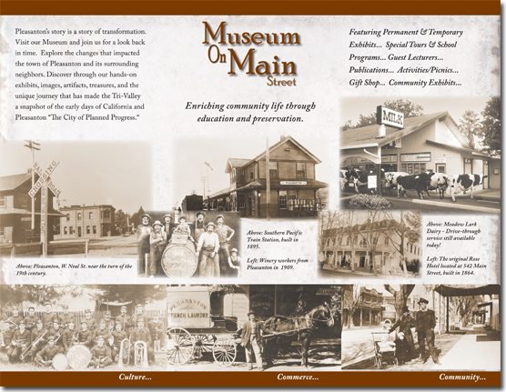 Museum On Main - General Brochure (Inside)