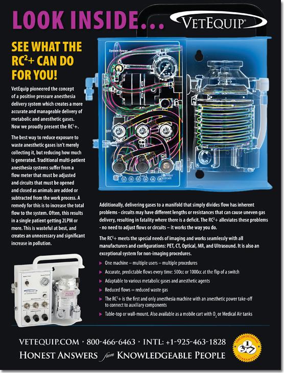 VetEquip, Inc. - RC2 X-Ray Ad