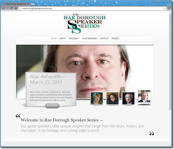 "<a href=""http://raedoroughspeakerseries.org/"" rel=""noopener"" target=""_blank"">Rae Dorough Speaker Series - Website</a>"