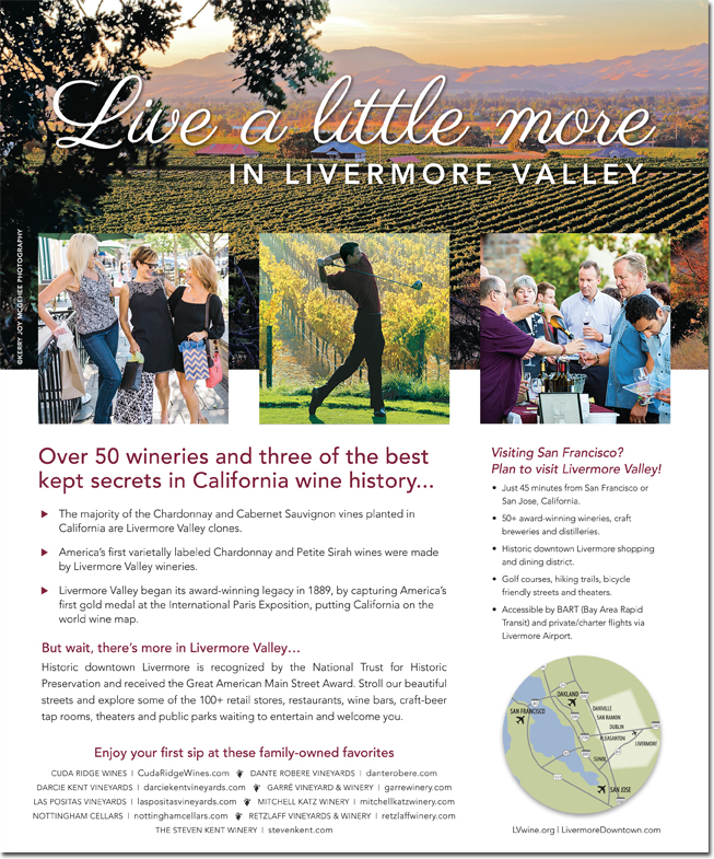 Livermore Valley Winegrowers Ad