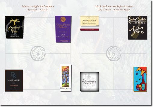 Livermore Winegrowers Association Passport (Inside Spread)