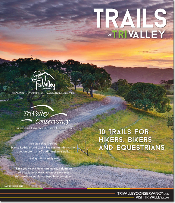 Tri-Valley Trails Brochure (Outside)